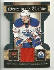 2011-12 Panini Crown Royale Heirs to the Throne Jersey # 23 RYAN NUGENT HOPKINS