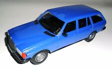 Mercedes W 123 T Modell Typ 200 240 250 300 T TE ul blau blue, ESTONIA in 1:20!