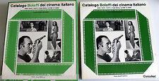 CATALOGO BOLAFFI DEL CINEMA ITALIANO 1966-1975 TUTTI I FILM DEGLI ULTIMI 10 ANNI