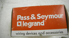 Pass & Seymour 3864 Power Outlet 30A 125/250V Surface Mount 3P 4W - NEW