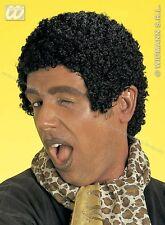WIDMANN Parrucca Afro CORTO NERO CARNEVALE 115 6081J