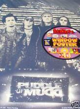 """Puddle of Mudd Window or Wall Poster 11"""" x 16"""""""