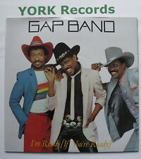 """GAP BAND -I'm Ready (If You're Ready) - Ex Con 7"""" Single Total Experience TE 004"""