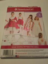 American Girl Dress & Jacket Pattern Simplicity 8283 GIRLS Size 3-8 NOT THE DOLL