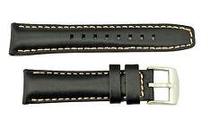Luminox-Modern Mariner Ladies 7261 20mm-Black- Watch Band Strap Pink Stitching