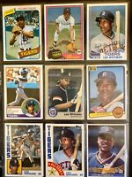 Lou Whitaker 1980's - 1990's Misc Card Lot
