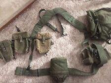 Vietnam era M1956 Web gear with Pouches