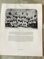a1x ephemera reprint picture bengal lancers 1879