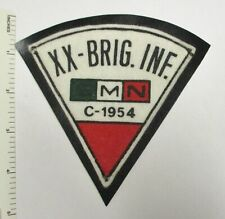 Mexican Army Xx Brig. Inf. Smn C-1954 Patch Older Vintage Original Mexico