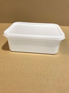 Plastic Storage Containers 80 x 2ltr Rectangular.