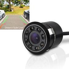 Mini Rearview Backup Parking Assist Camera, Waterproof, Night Vision LEDs Flush