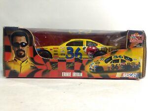 Nascar #36 Ernie Irvan M&M A Yellow Pontiac 1:24 Scale Diecast Racing Champions