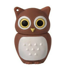 4GB Brown Cute Cartoon Owl Shaped USB Flash Drive Disk USB Memory Stick