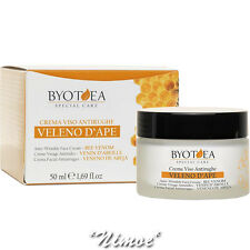 Anti-Wrinkle Face Cream Bee Venon 50ml Special Care Byotea ® al Veleno d'Ape