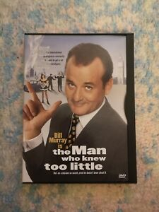 The Man Who Knew Too Little - Rare Bill Murray Film - Region 1 Clamshell Warner