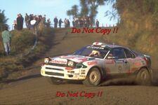 Yoshio Fujimoto Toyota Celica Turbo 4WD New Zealand Rally 1994 Photograph 3