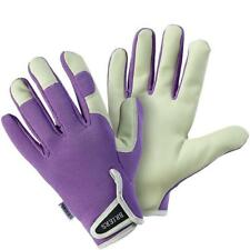 Briers Lady Gardener Aubergine Gardening Gloves Medium Size 8 B5263