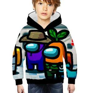 Children Cool Unicorn Sweatshirt Kid Anime Hoodie Harajuku Jacket Cosplay UK