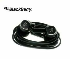 Original BlackBerry WH70 Black Headset UNIVERSAL for ALL 3.5 mm Applications NEW