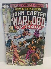 John Carter Warlord of Mars #27 (Sep 1979, Marvel), VG, Very Good