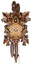 Adolf Herr Cuckoo Clock  - The Wise Owls AH 103/1 NEW