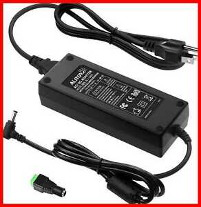 AC 100 240V To DC 24V 5A Power Supply Adapter Converter W 5.5 X 2.1Mm 2.5Mm Outp