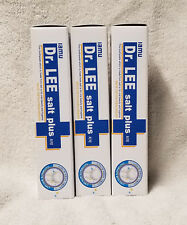 Lot of Three (3) STC Dr. Lee Salt Toothpaste