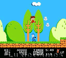 Kid Niki Radical Ninja - NES Nintendo Game
