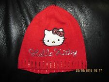 bonnet rouge HELLO KITTY