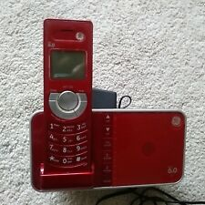 GE 6.0 Red Digital Cordless/ with Digital Answering System
