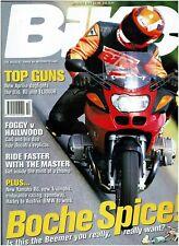 BIKE OCTOBER 1998 - NEW YAMAHA R6 / BMW 1100RS / DUCATI 916 / APRILIA RSV1000