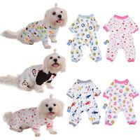 Dog Cat Pet Puppy Jumpsuit Pajamas T Shirt Clothes Sleepwear Clothing Apparel
