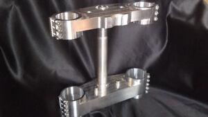 Triumph Speed Triple & Daytona Billet Fork Yoke Conversion