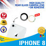 iPhone 8 Back Camera Glass Lens Rear Glass Replacement With 3M Adhesive NEW