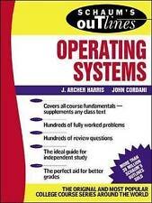 Schaum's Outline of Operating Systems by Harris, J. Archer -Paperback