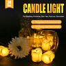 12/24PCS Flickering Flameless Candles LED Battery Operated Electric Tea Lights