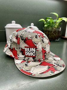 Run DMC Sneaker Print Hat Size L/XL Hip Hop Rap