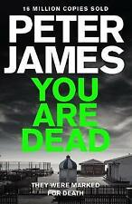 You Are Dead by Peter James (Paperback, 2015) Great story from Roy Grace series.