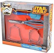 NWT-Zak Disney Star Wars Tiny Chef Baking Set for Darth Vader and R2D2 Cookies
