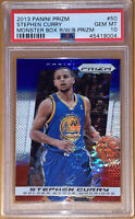 🔥2013 Stephen Curry PANINI PRIZM RED WHITE BLUE MONSTER BOX PULSAR PSA 10🔥BGS