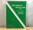 The Complete Official MGB 1962-1974 Driver's Handbook Workshop Manual Tuning