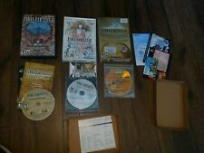 Final Fantasy XI: pc game / expansion 3 pc lot Vana'diel Collection wings Ari ++