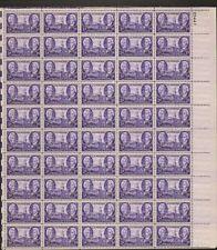 941 Tennessee Statehood MNH Sheet CV $13