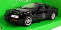 Chevolet Camaro SS, Black, 1/24 Welly Nex Model Car