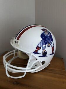 NEW ENGLAND PATRIOTS Riddell AUTHENTIC Throwback NFL Football Helmet