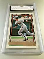 DWIGHT EVANS 1992 Topps GOLD WINNER #705 GMA Graded 10 Gem Mint
