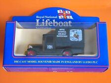 Lledo - ROYAL NATIONAL LIFE-BOAT INSTITUTION - 1928 Black Chevrolet Box Van