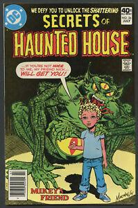 1980 DC Comics Secrets of Haunted House #26 Mikey's Friend
