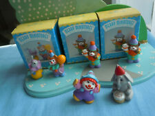 Lot Of 6 Vintage Hallmark Merry Miniature Happy Birthday Clowns Circus