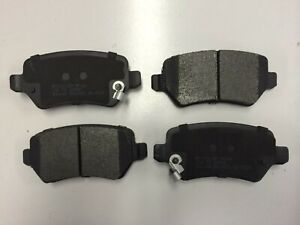 Rear Brake Pads Fits Bendix DB1511 for Holden Astra 2005-2010 1.8, 1.9D, 2.2 AH